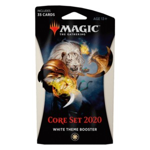 2020 Core Set (M20) Theme booster - biały
