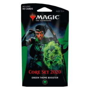 2020 Core Set (M20) Theme booster - zielony
