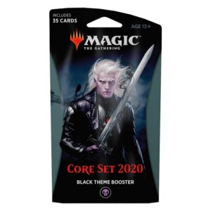 2020 Core Set (M20) Theme booster - czarny
