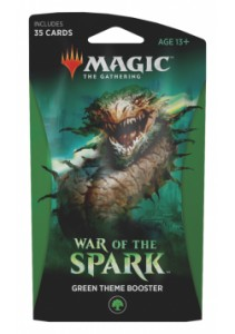 War of the Spark Theme booster - zielony