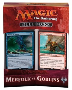 Duel Decks Merfolk vs Goblins