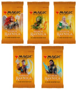 10 Boosterów Guilds of Ravnica